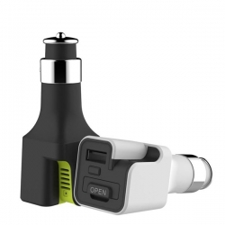 RCC 0115  АЗУ 2A + ароматизатор rock space Aroma Diffuser Car Charger