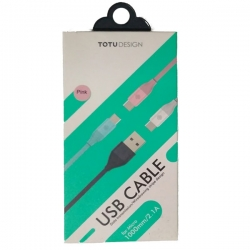 LI08 TOTU DESIGN USB CABLE for Micro 1000mm 2.1A