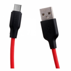 X21 1m Micro SILICONE CABLE quick charge  2A hoco