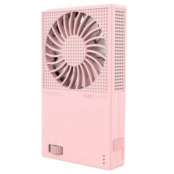 F28  2in1 FAN + POWER BANK 5000mAh 5V/2.4A(max)  REMAX (+вентилятор)