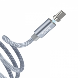 U40A  Micro-USB MAGNETIC ADSORPTION CHARGING CABLE 1m hoco