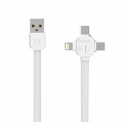 RC-066th  3in1 USB кабель для iPhone/Android/Type-C 1м REMAX