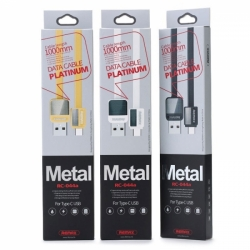 RC-044a USB кабель Type-C 1м Metal REMAX